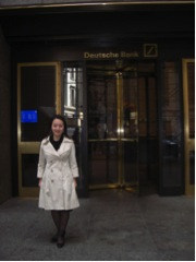 Notes: Fancy Li visited DB bank in USA to talk about USA project financing